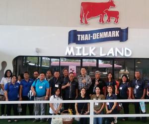 PCC Officials and Staff Gain First-hand Insights on Thailand's Dairy Industry