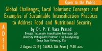 ADSS: Global Challenges, Local Solutions: Concepts and Examples of Sustainable Intensification Practices to Address Food and Nutritional Security